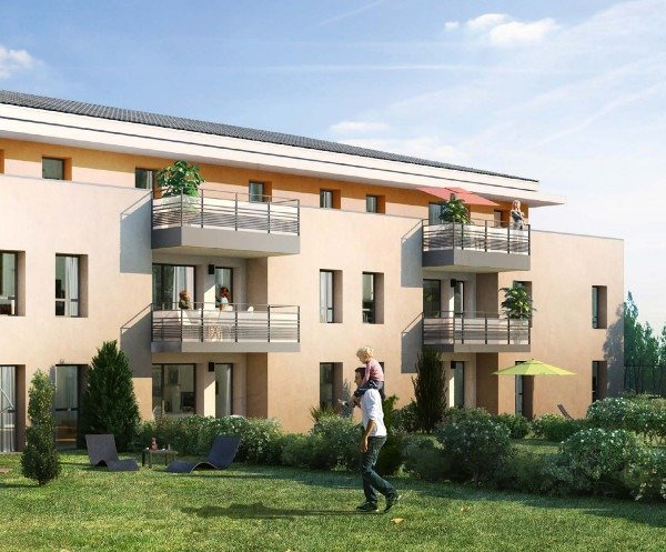 programme immobilier neuf domaine des pins Cuers